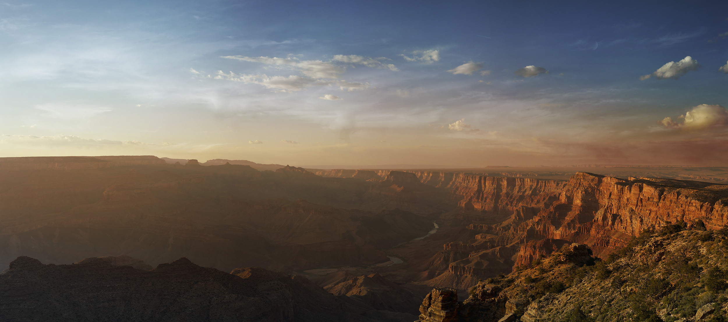 photo of the Grand Canyon at sunset by Arizona Landscape Photographer Travis Neely